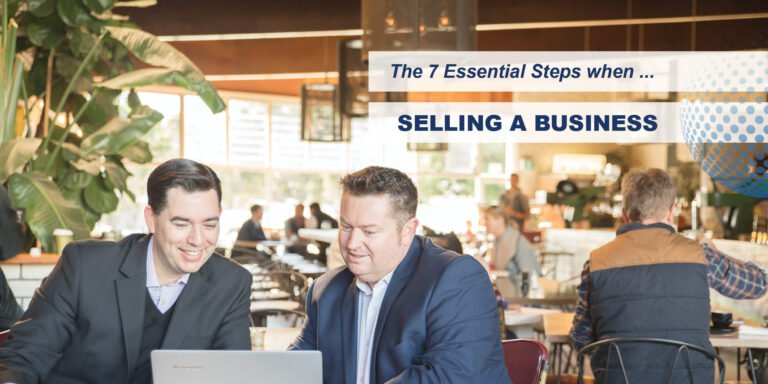 Selling a Business - selling a business