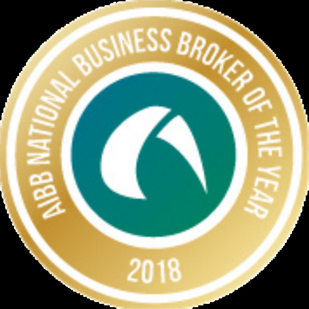 Ian Jones wins the Australian Institute of Business Brokers National Business Broker of the Year 2018