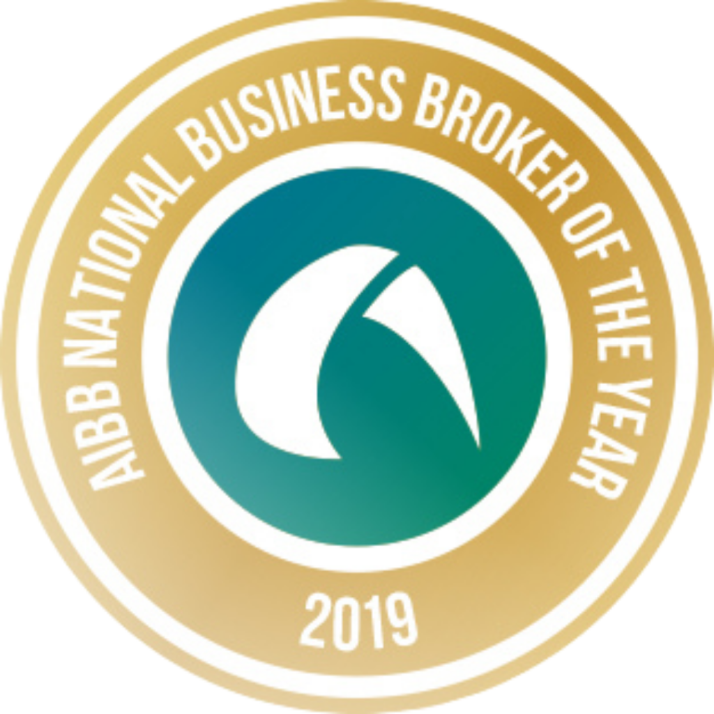 Shane Fox wins the Australian Institute of Business Brokers National Business Broker of the Year 2019