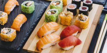 Two Sushi Kiosks, Newcastle